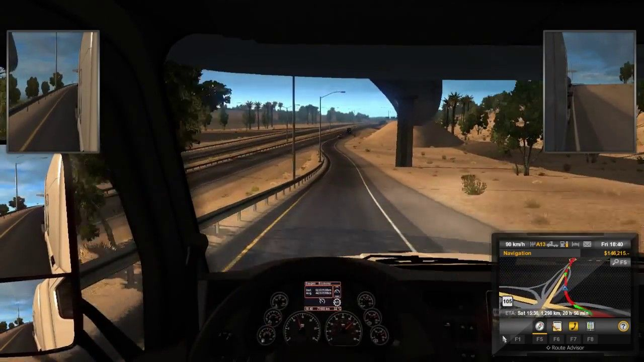 American Truck Simulator Live Game Play Day 7 American Truck