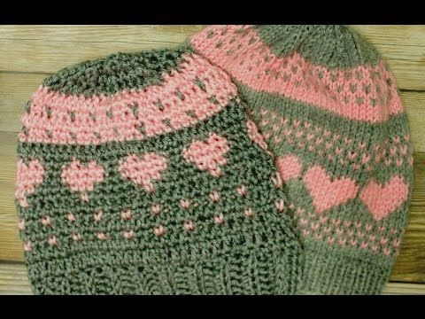 fdb36da71 How to crochet Easy Ribbed Beanie/Cap Style 1 - Yolanda Soto Lopez ...