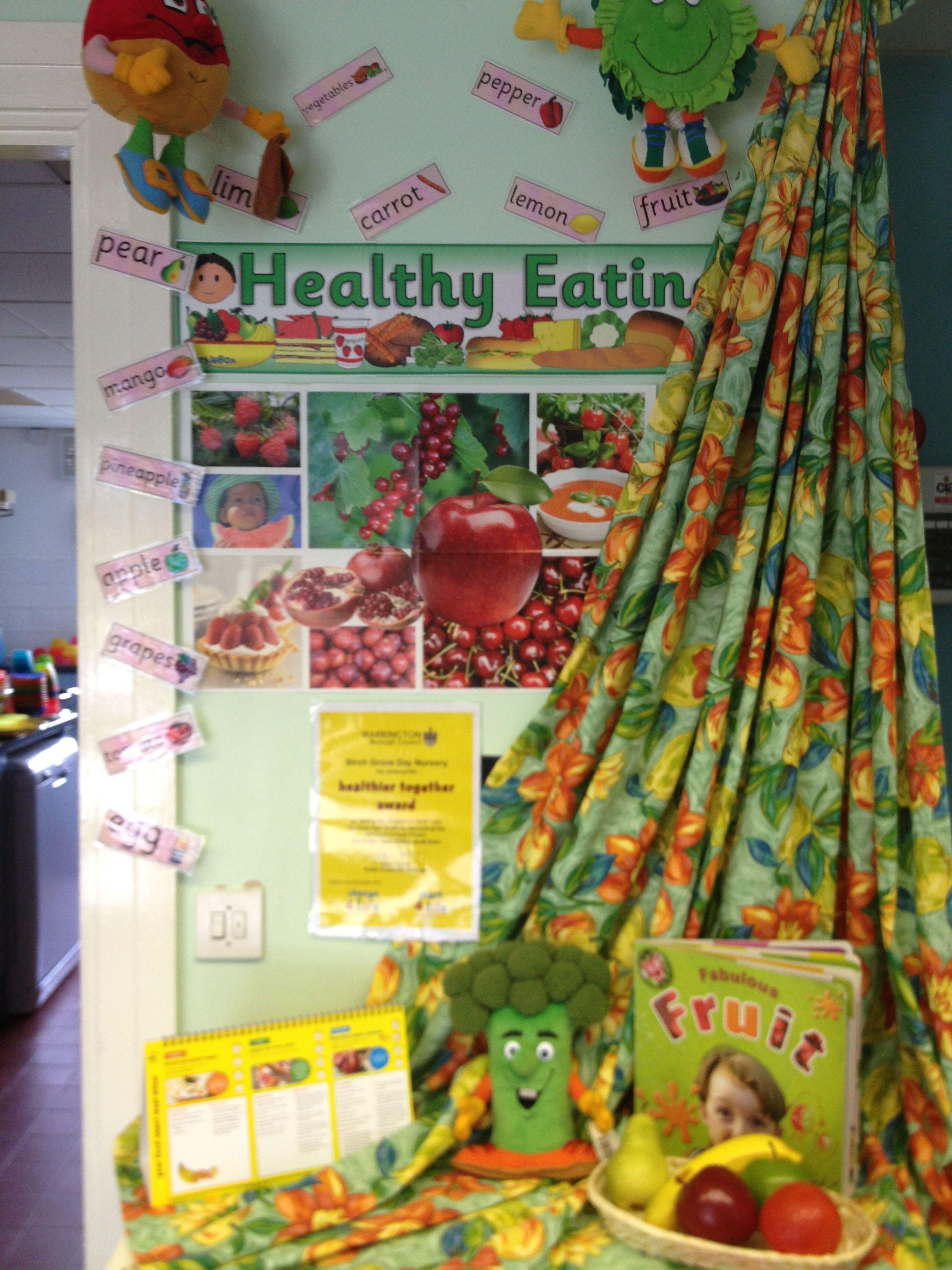 Healthy Eating Display