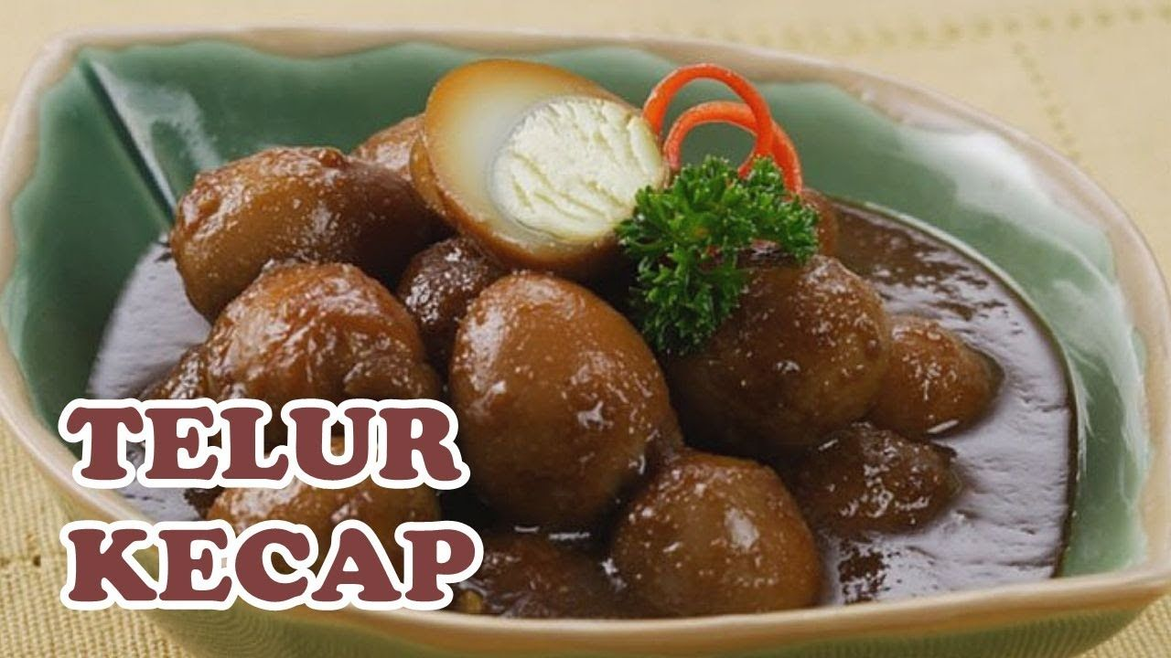 Resep Telur Kecap Resep Masakan Simple Rumahan Sehari Hari Ibu Rumah T Resep Masakan Makanan Resep