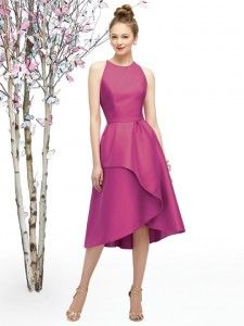 Lela Rose LR206 is a unique bridesmaids dress perfect for a classically elegant wedding. This adorable Lela Rose dress is available at The Lounge by Anglo Couture.