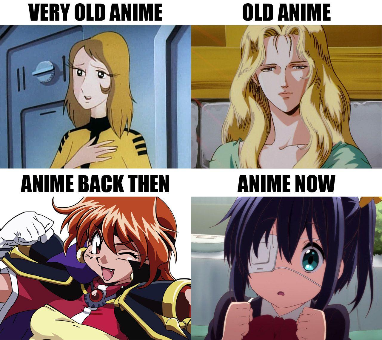Old Anime Anime Old Anime Anime Memes Funny