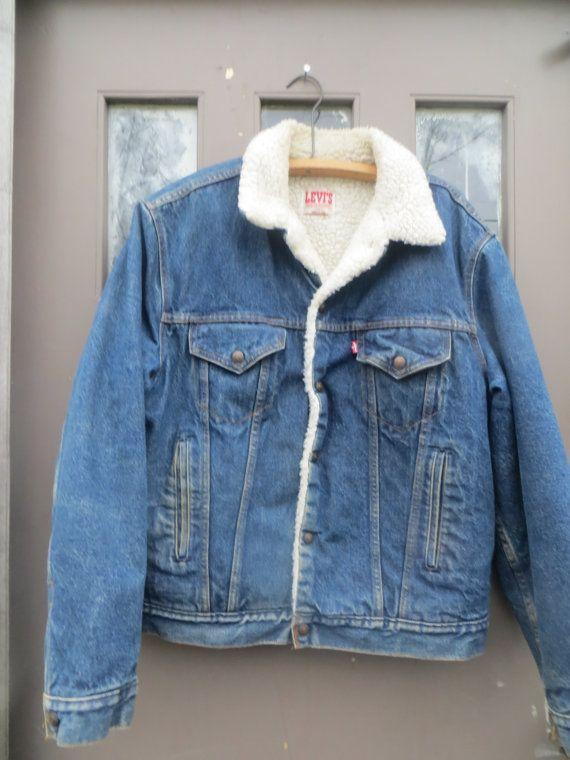 1980s Made in San Francisco Sherpa Jacket