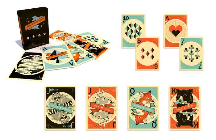 Pocono Modern Playing Cards By Kraig Kalashian On Kickstarter