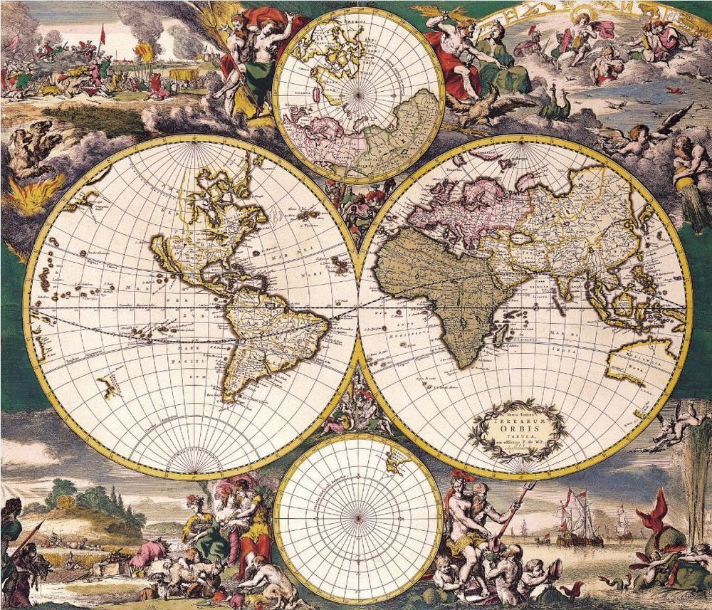 Antique collection of vintage maps of the world over 100 maps on antique collection of vintage maps of the world over 100 maps on dvd free gumiabroncs Images
