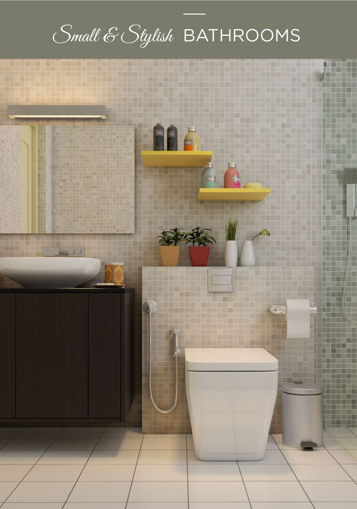 Indian Bathroom Design Mesmerizing Don't Comprise On Style And Function In These Small Bathrooms Design Ideas