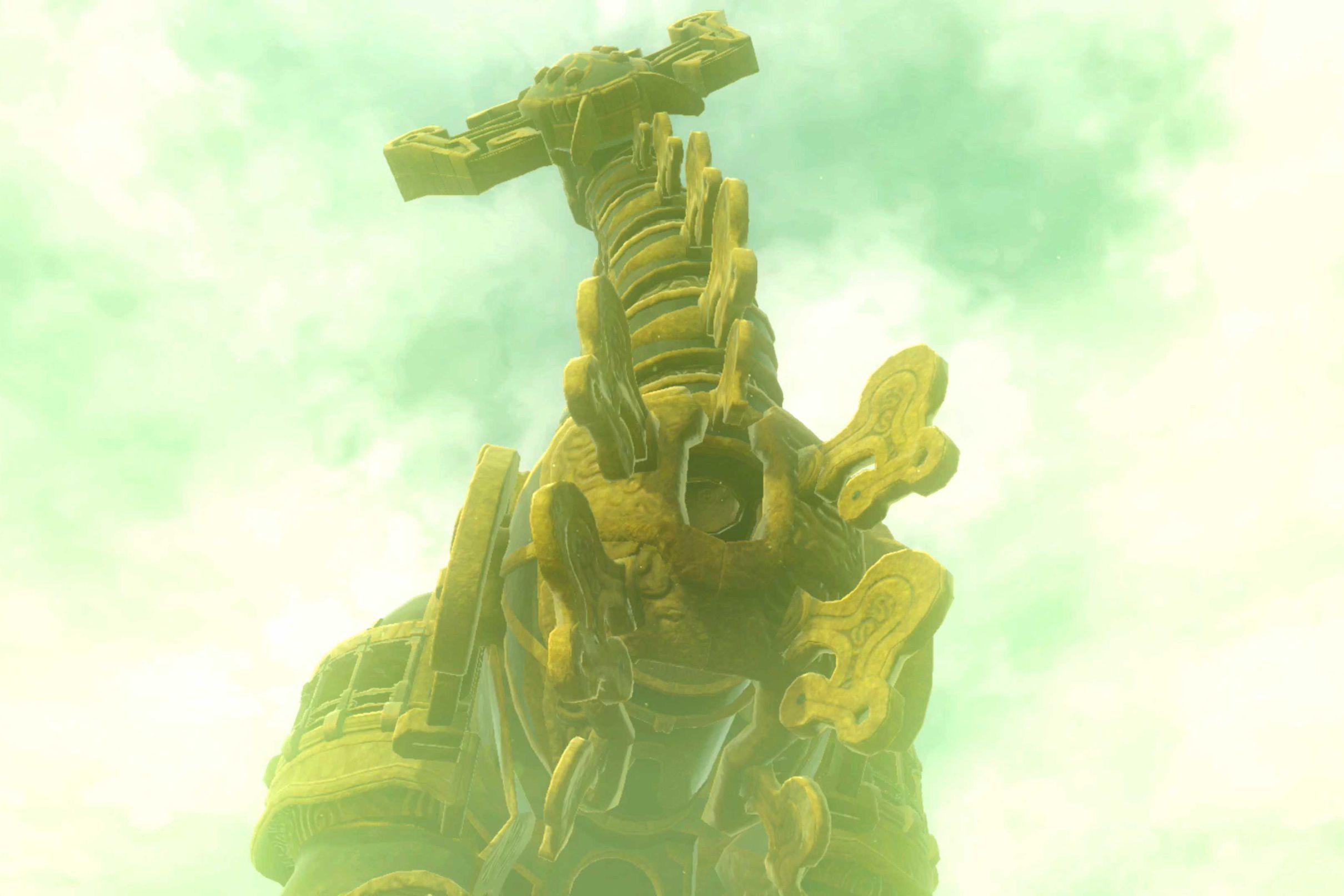Thunderblight Ganon Boss Fight Zelda Breath Of Wild