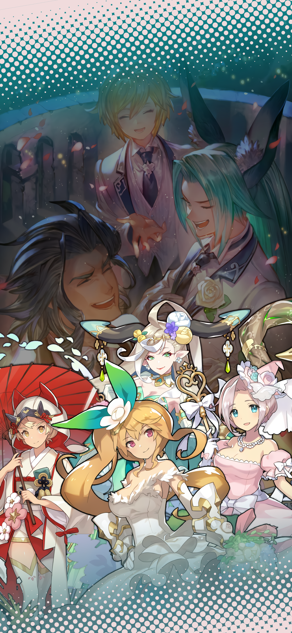 Dragalia Lost Wedding Belles Wallpaper With Images Wallpaper Anime Lost