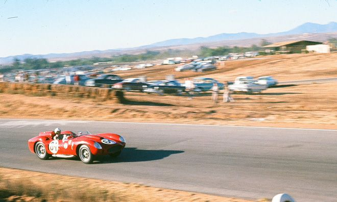 Richie Ginther -- Ferrari 412 MI Ginther DNF'd in this spectacular one-of-a-kind Ferrari.