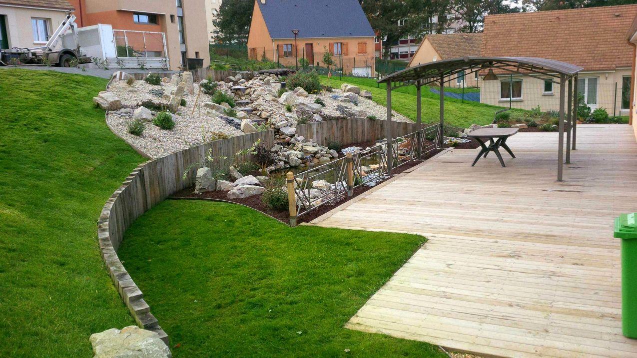 70 Bordure Beton Point P 2017 Amenagement Jardin Amenagement Jardin En Pente Jardin En Pente