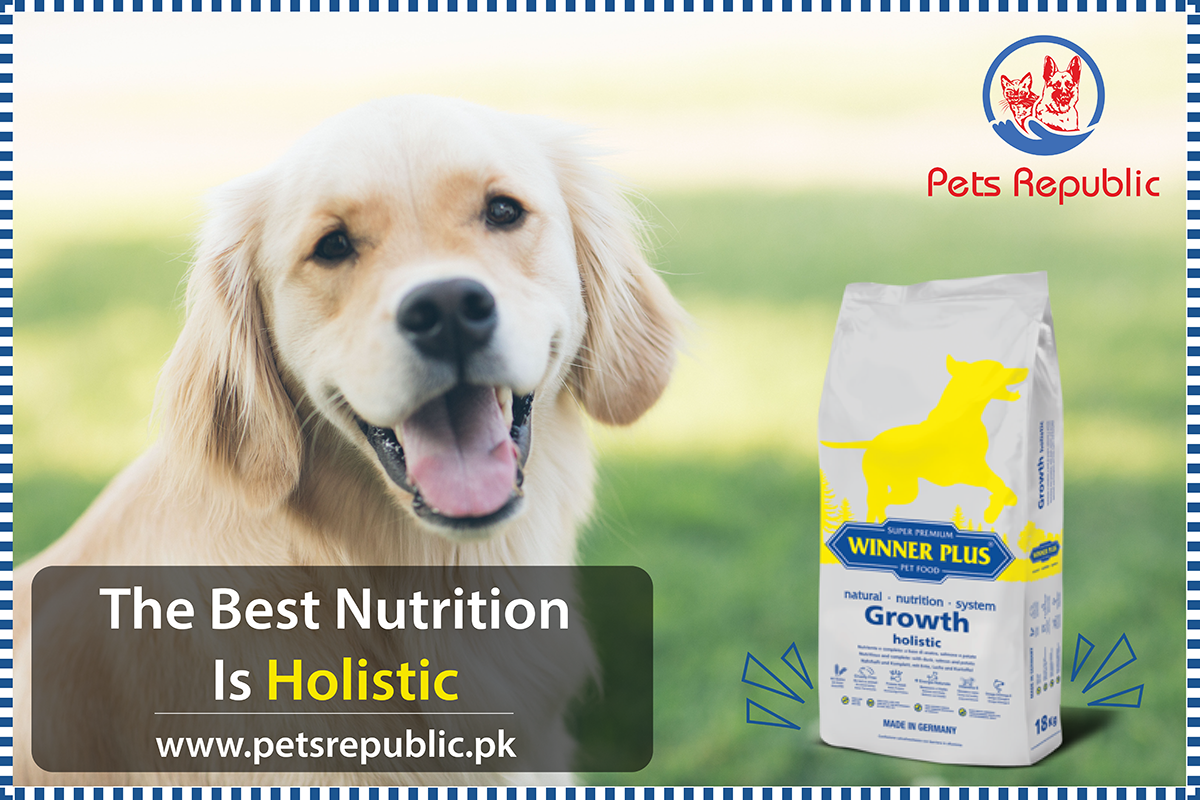 Winner Plus Growth Holistic 18kg Winner Plus Growth Holistic Is A Nutritious Natural And Complete Feed Without Gluten Soy Corn E Holistic Nutrition Dogs