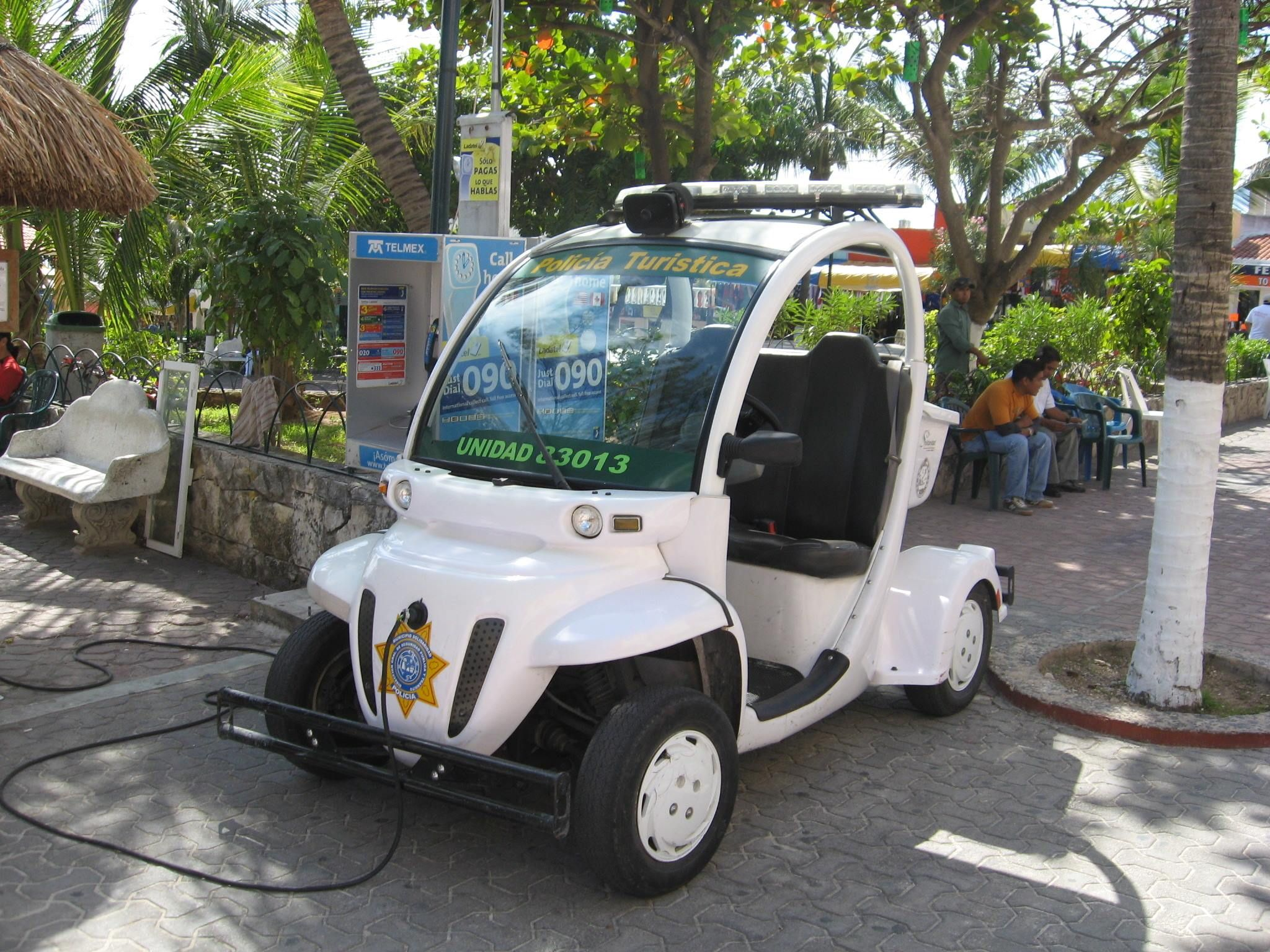 Gem Car Being Used By Police In Mexico