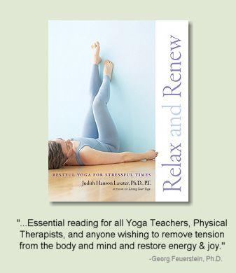 Relax And Renew Restorative Yoga Yoga Books Yoga