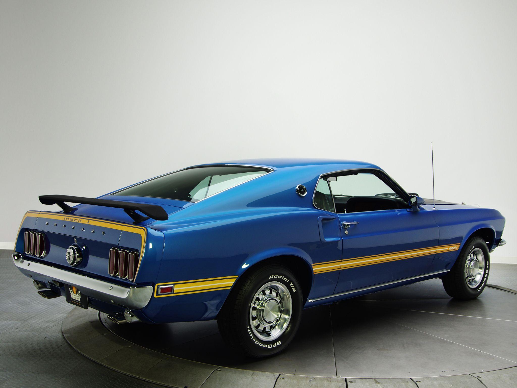 1969 Mustang Mach 1 428 Super Cobra Jet Mustang Mach 1 Mustang 1969 Mustang Fastback