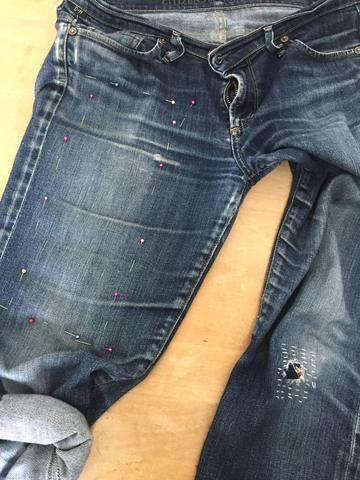 Visible Mending as Wearable Art #wearableart