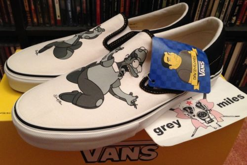 Vans Classic Slip On Lx The Simpsons Movie X David Flores 11 Vans Vans Classic Slip On The Simpsons Movie