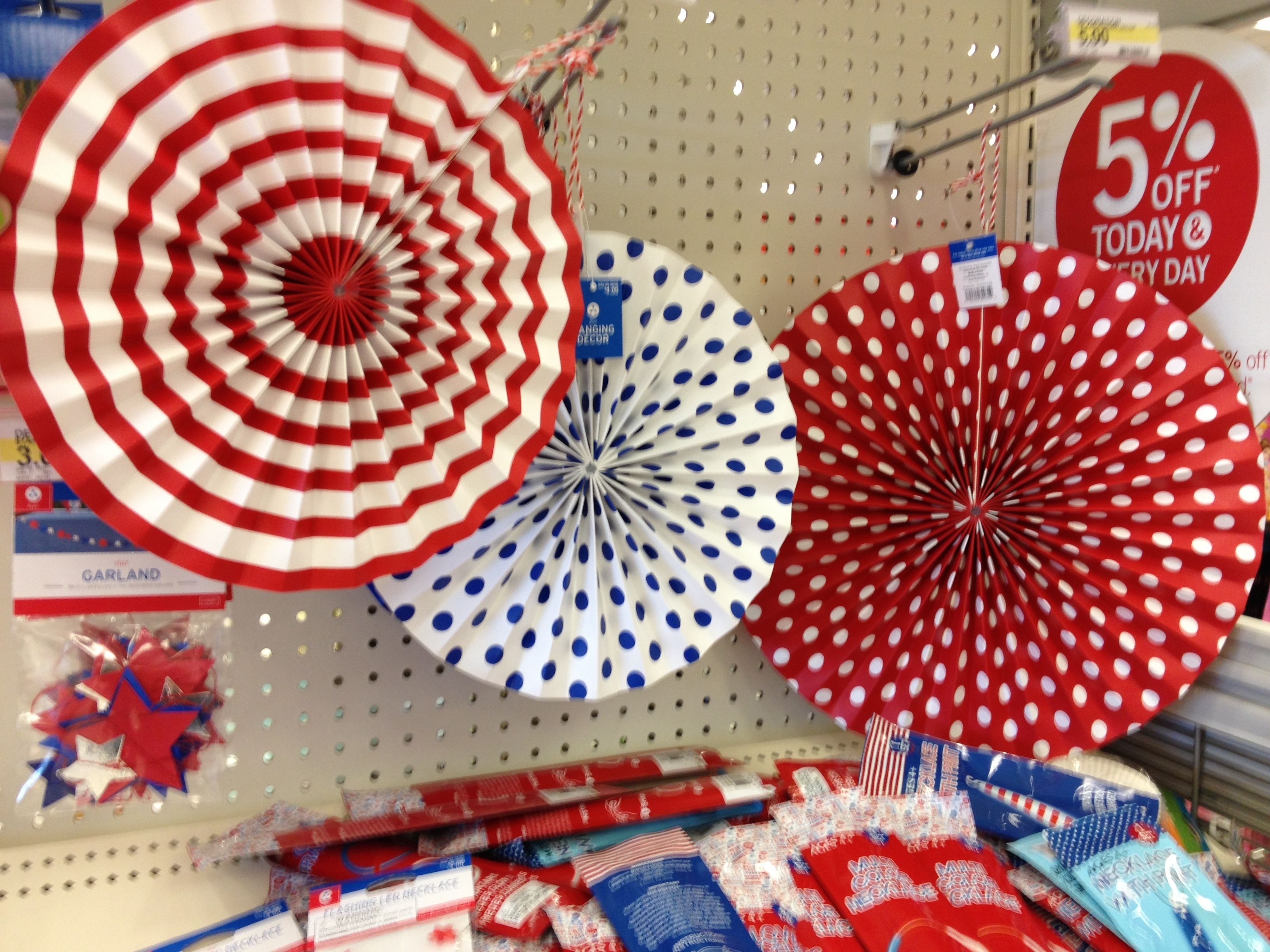 4th of July Decor// Target | Cute PARTY Foods/Decor | Pinterest