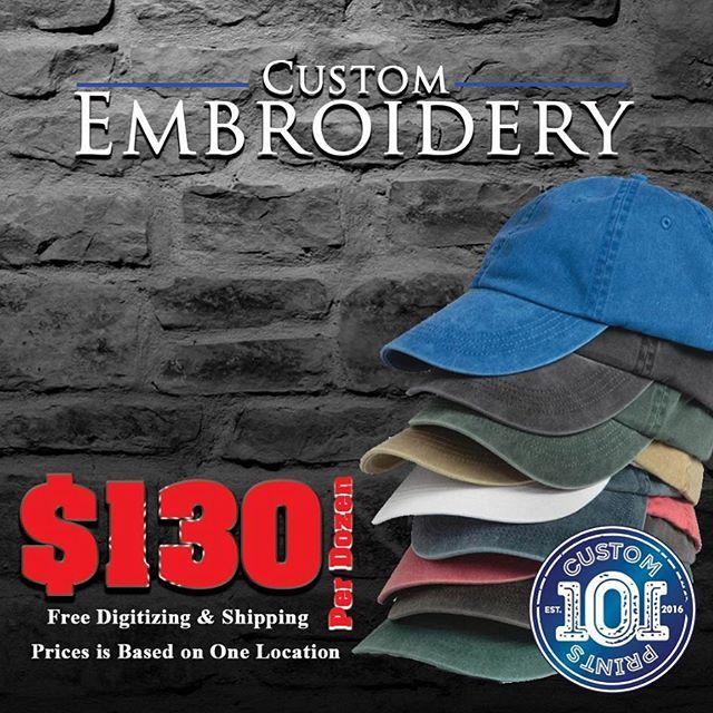 Design Custom Embroidered Caps Online In New York Custom 101