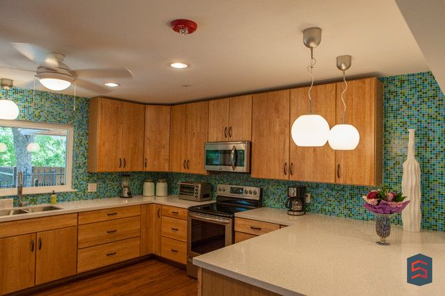 Mid Century Kitchen Great Ideas With Mid Century Modern Remodel