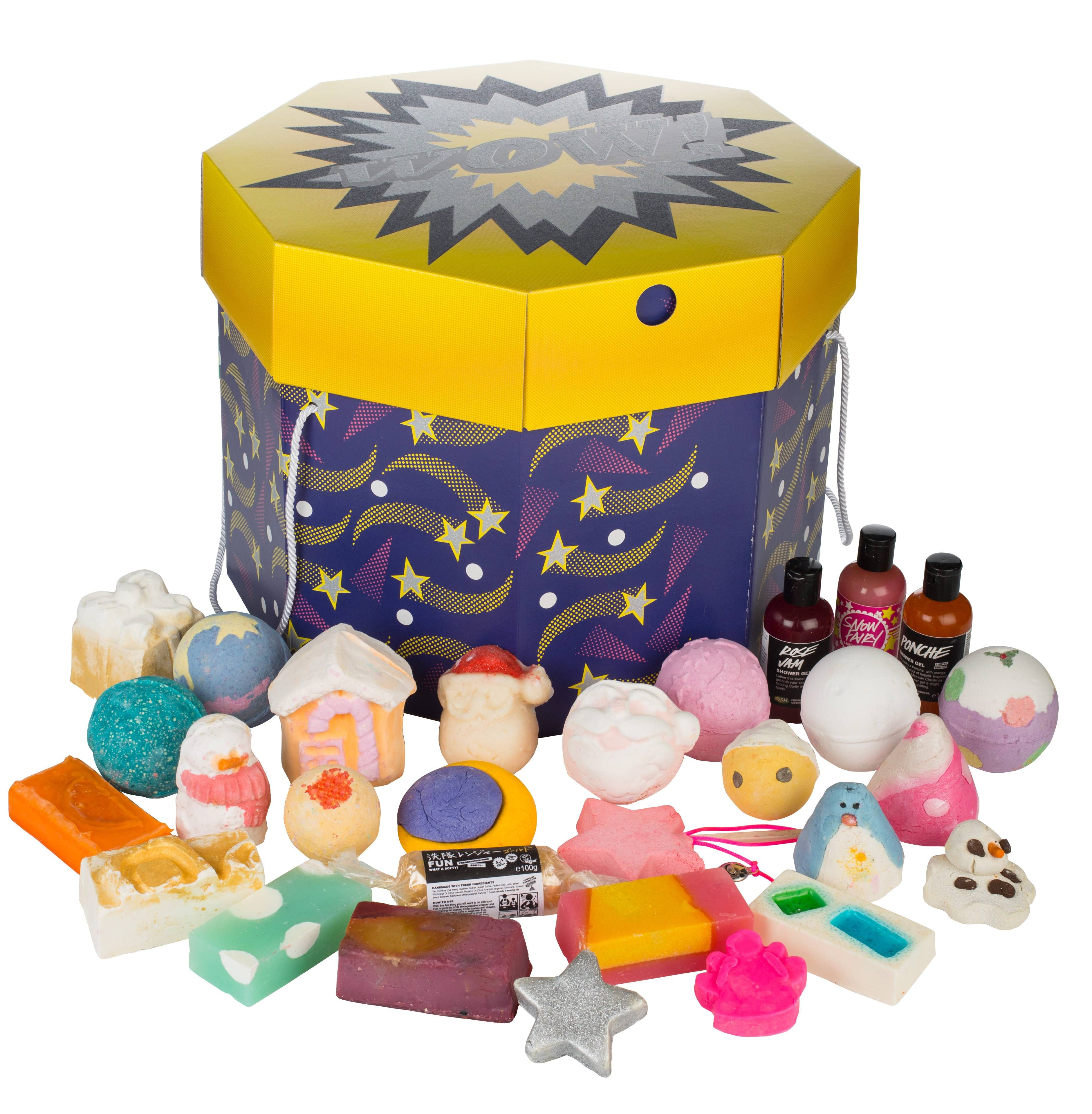 LUSH - Wow! Gift   lotion and soap , lush ,face wash etc..3 in 2018 ...