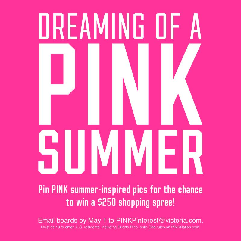 ITS GONNA  BE A PINK SUMMER :)