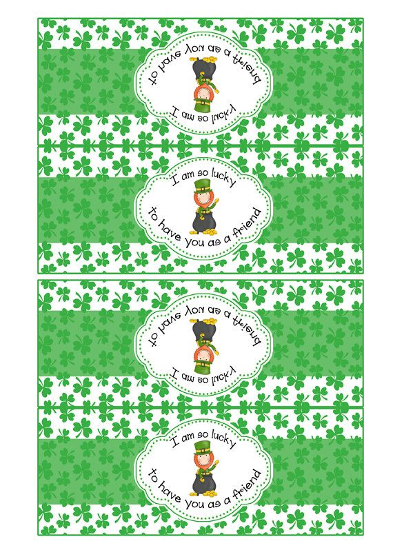 Instant Download Treat Bag St Patricks Day by SMALLMOMENTSdesigns, $4.00