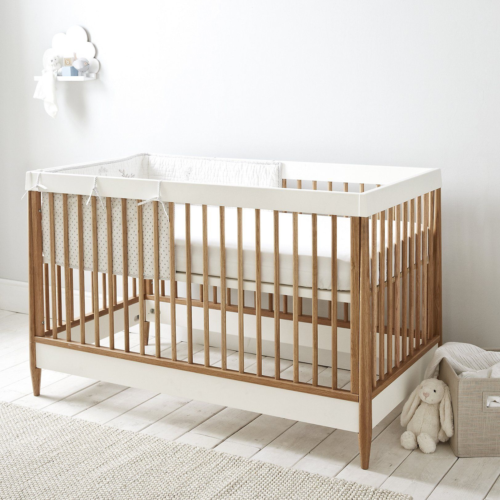 Ercol Devon Cot Bed | Nursery | Childrensu0027 Bedroom | The Little White  Company |