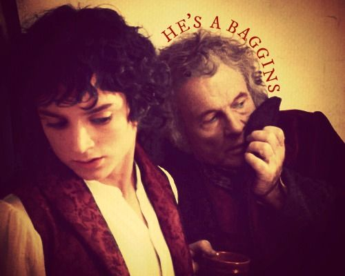 what is the relationship between bilbo and frodo