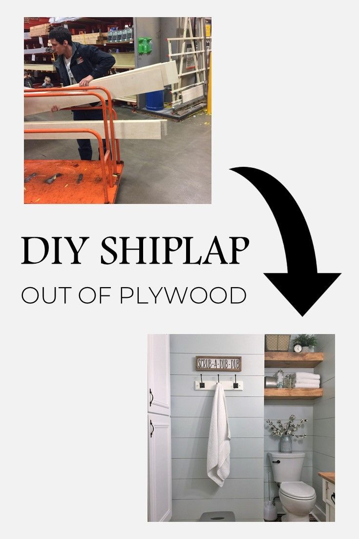 Joanna gaines hallway decor  How to Install Shiplap in  Simple Steps  Home DIY  Pinterest