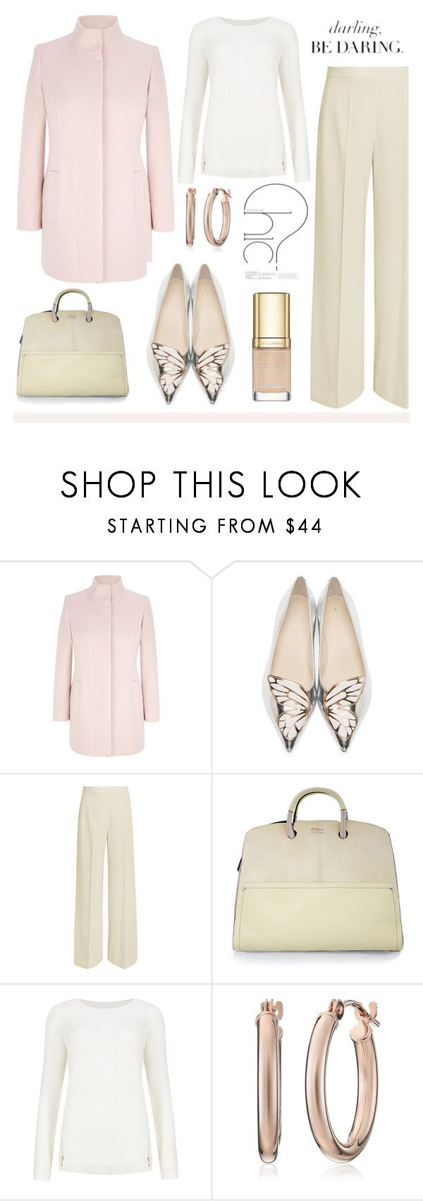 """Winter Pastels"" by soleuza ❤ liked on Polyvore featuring Viyella, Sophia Webster, STELLA McCARTNEY, Furla, M&S Collection and Dolce&Gabbana"