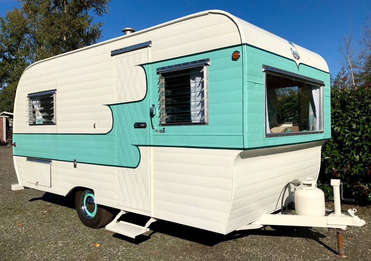 Take A Look Inside This Restored 1959 Oasis Travel Trailer