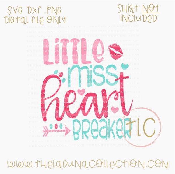 25+ Heart Breaker * Little Heart Breaker * Valentine Cutting File Image