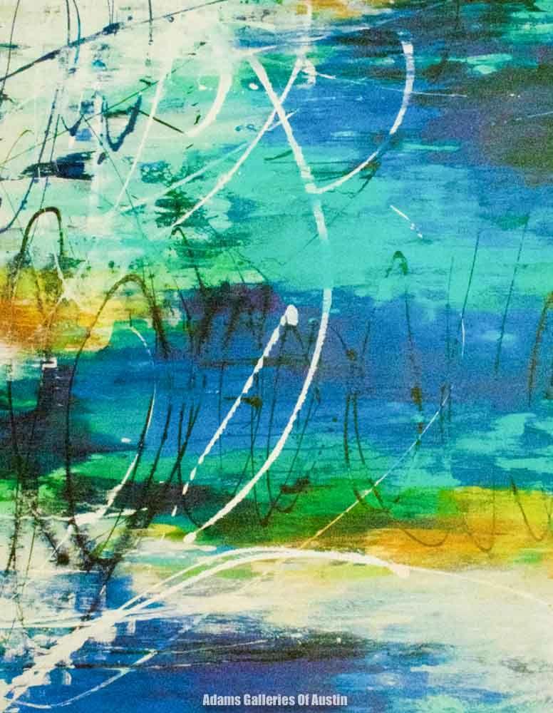 Artist liz jardine title mix master size 40x50 giclee