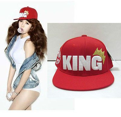New Kpop Idol Fashion Hat Hyuna 5dolls King Embroidery Fitted Snapback Ebay Hyuna Fashion Hat Fashion Fashion