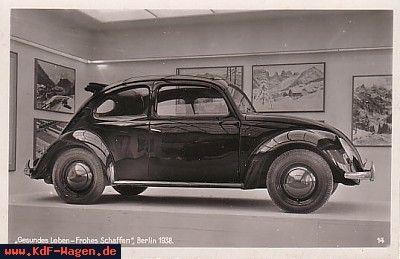 VW - 1938 - Gesundes Leben - Frohes Schaffen, Berlin 1938 - [6817]-1