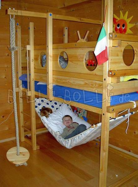 Hammock Underneath Kids Bedroom Room Kid Beds