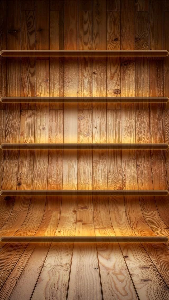 The 1 IPhone5 Shelves Wallpaper I Just Shared