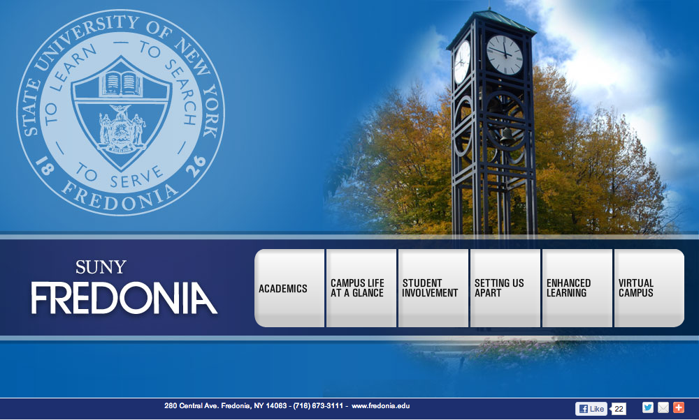 Virtual Campus Experience Suny Fredonia Our Portfolio College