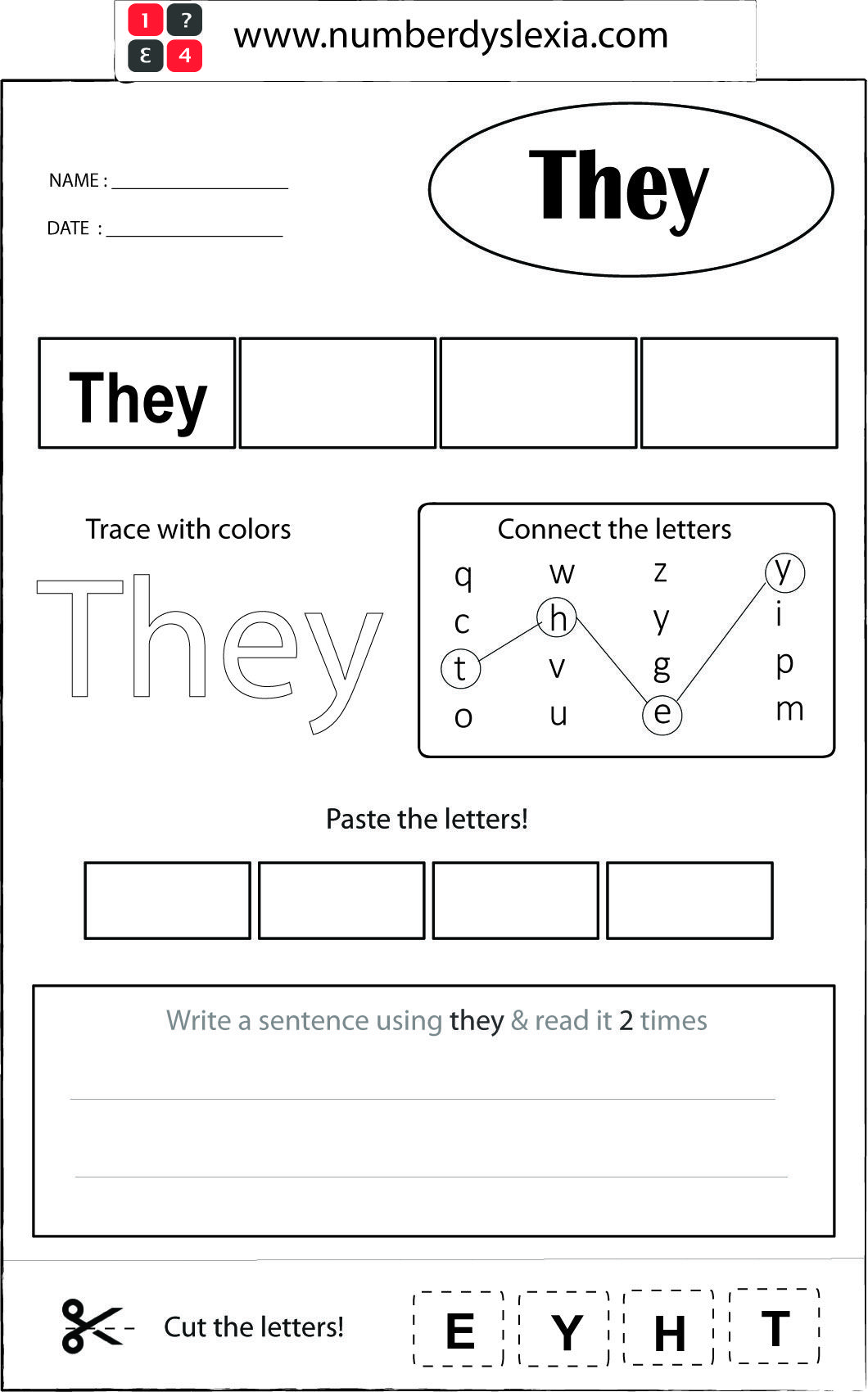 33++ Spelling worksheets for kids with dslexia Top