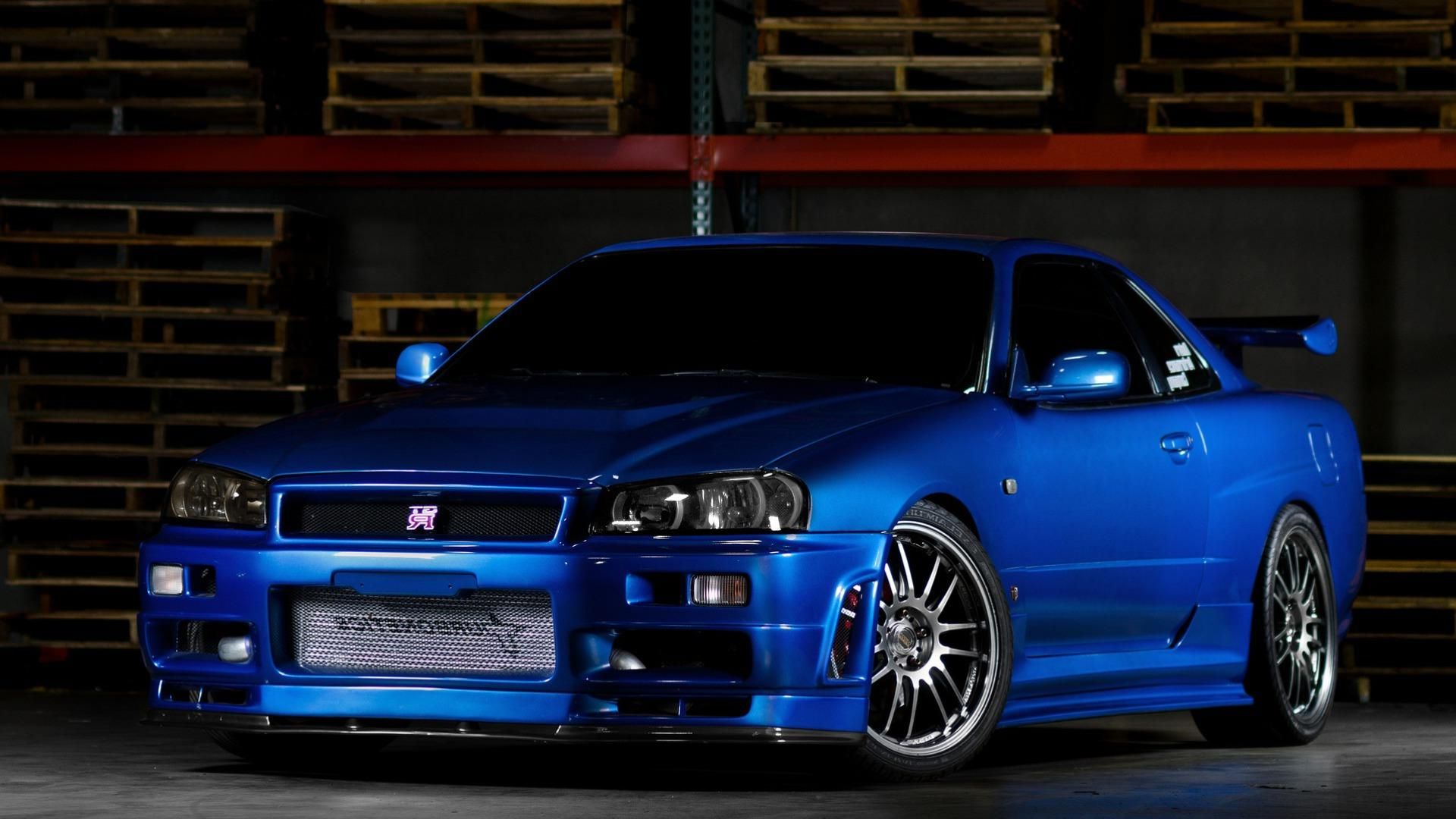 Nissan Skyline Gtr R34 Desktop Hd Wallpapers Jdm Pinterest
