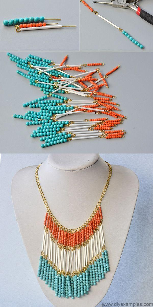 Like the beaded bib necklace?The details will be shared by LC.Pandahall.com soon