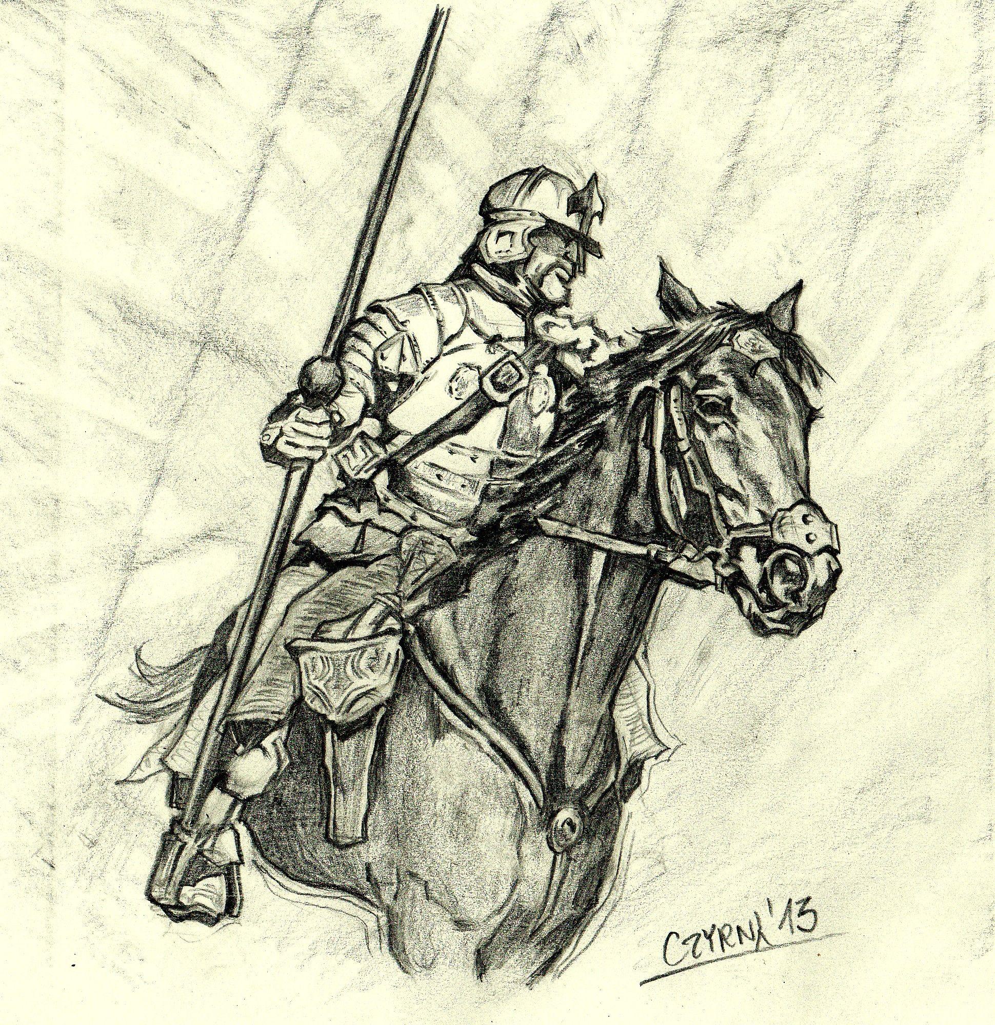 Husarz Szkic Winged Hussars Polish Winged Hussars Polish Hussars