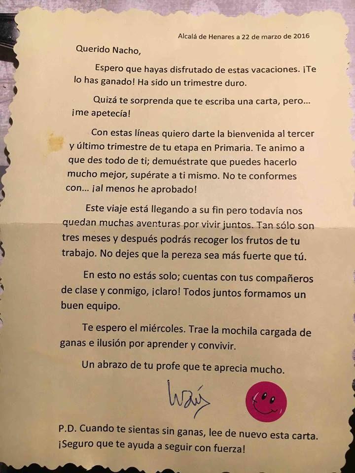 Carta profesor p ldoras alfin pinterest materiales for Fuera de quicio significado