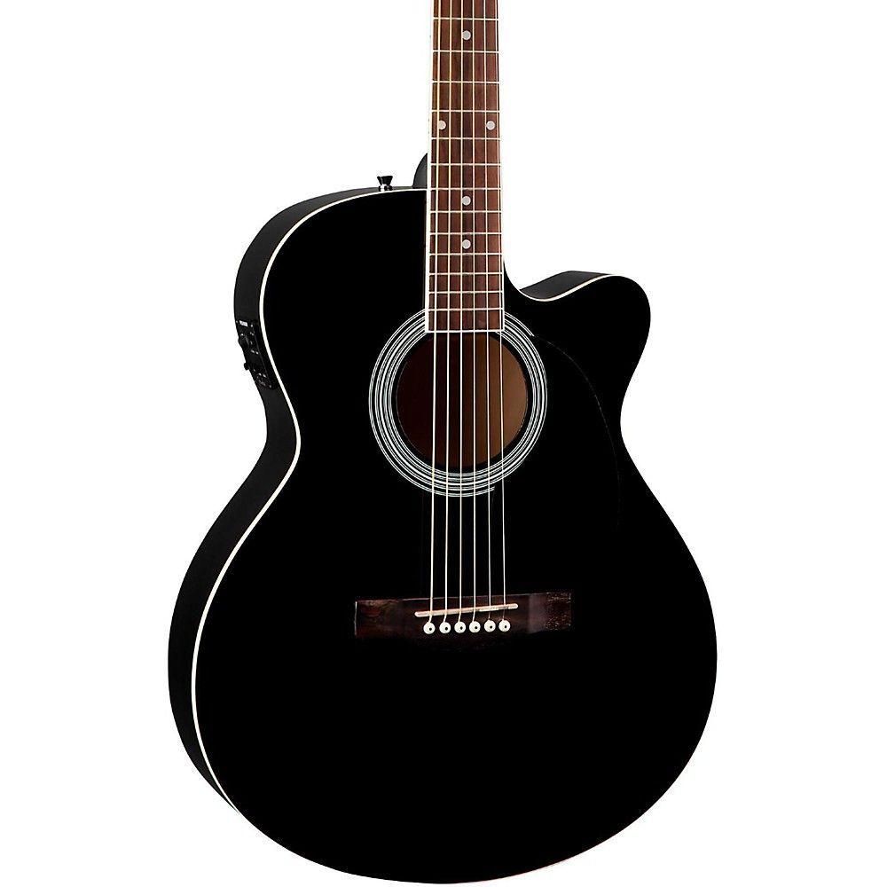 Fender Fa 135ce Cutaway Concert Acoustic Electric Guitar Acoustic Electric Guitar Guitar Acoustic Electric