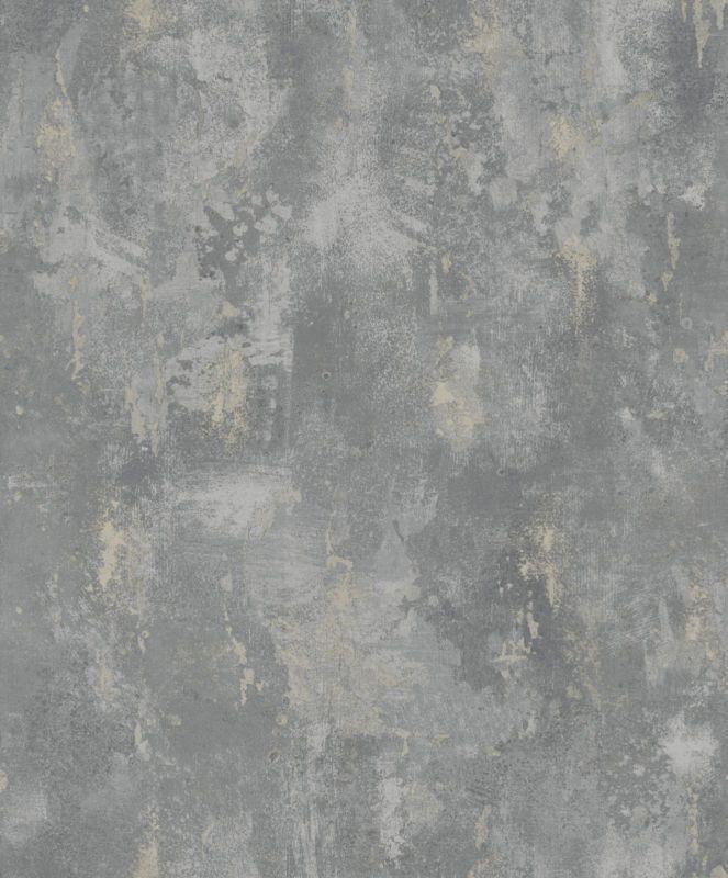 Details zu Vliestapete Stein Optik Patina patiniert spachtel grau - tapete grau beige