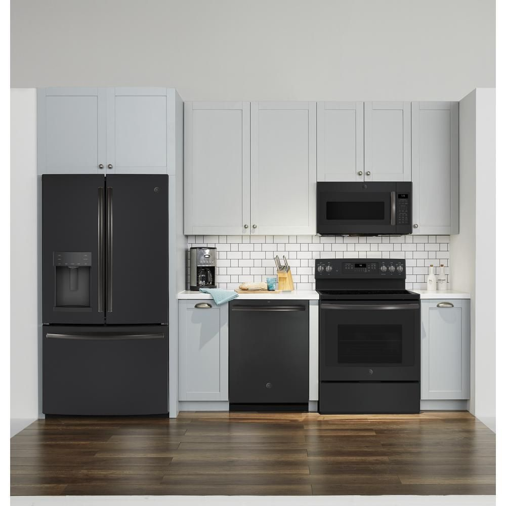 Ge Black Slate Suite All 4 Or Separate Black Appliances Kitchen
