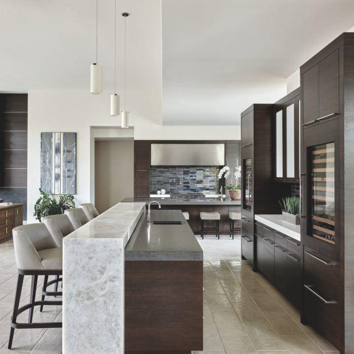 New Home Designs Latest Modern Kitchen Cabinets Designs: An Arizona Home Centers Around Entertaining