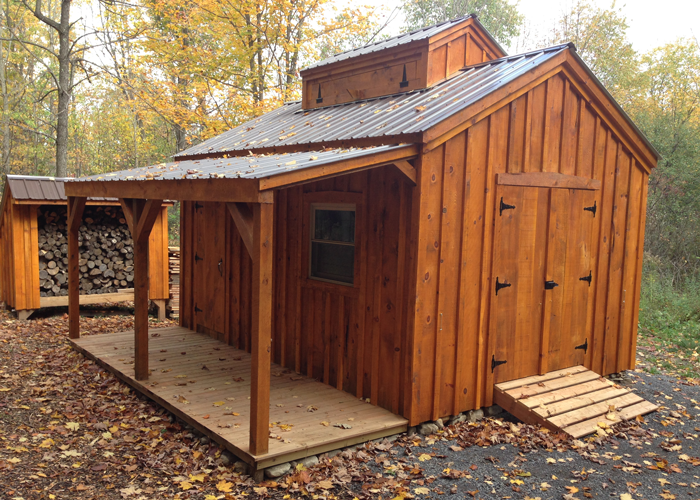 Backyard Workshop | Backyard Cottage Kits | Jamaica Cottage Shop