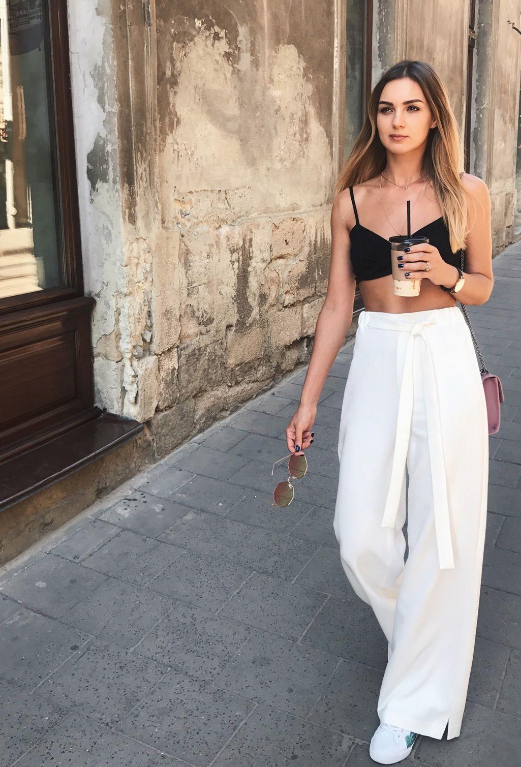 Tendência sutiã como top my summer dream pinterest fashion