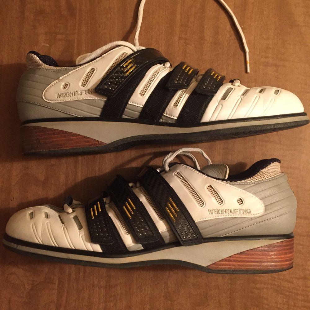 763d929b190 Vintage Adidas Adistar 2000 Weightlifting Shoes ironwork crossfit  powerlifting (eBay Link)